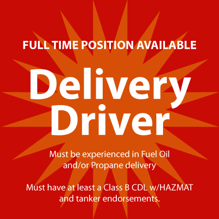 Oil Driver Wanted